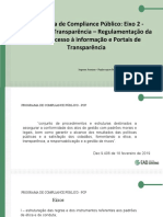 Eixo II - Fomento a Transparencia