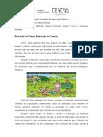 OGEB - EDUCAÇÃO DO CAMPO