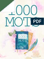 1000 mots