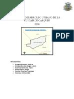 DESARROLLO DEL PLANEAMIENTO URBANO - CARQUIN