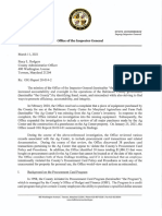Baltimore County OIG Report