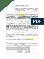 Contrato de Explotacion UTM