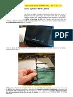 Poteaux 1500 en 3D Par HL