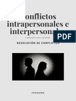 Cartilla de Conflictos Intrapersonales e Interpersonales