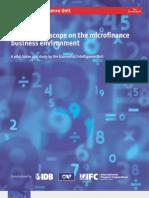 EIU Global Microscope on the Microfinance Business Environment 2009