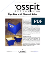 DIY Stacking Plyometrics Box Plans