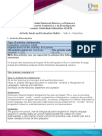 Activity Guide and Evaluation Rubric - Task 2 - Recording