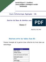 InfoApp S6 Séance2