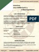 SARS-CoV-2 y sus Pares Biomagnéticos