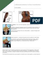 description de la guitare