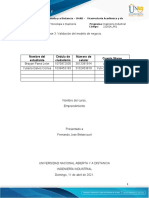 Plantilla Fase 3 - Validación Del Modelo de Negocio (1)