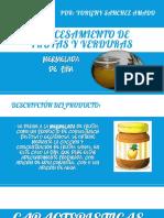 MERMELADA DE PIÑA CARACTEISTICAS FISICAS Y QUIMICAS DE LAS FRUTAS