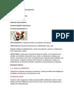 Act. Prog. N° 2 COMP. ART.  1er año A-B  Prof. Rafael Montiel