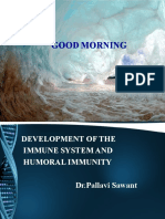 DEVELOPMENT OF IMMUNE