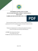 Johanna Pamela Barre Sarango, Conny Lizeth Castro Chugá (2021) UNIVERSIDAD CENTRAL DEL ECUA