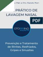 Guia Prático de Lavagem Nasal - Prevenção e Tratamento de Rinites, Resfriados, Gripes e Sinusites