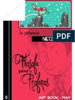 Larrauri Maite - Filosofia Para Profanos 06 - La Potencia Segun Nietzsche (Comic)