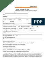 Summer VISTA Application 2021