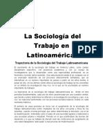 Sociología del trabajo en latinoamericana