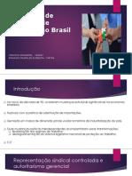 O Sistema de Relações de Trabalho No Brasil