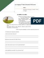 Guía de Apoyo Lenguaje 3 Basico Danisa