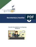 Modulo 6  Función Secretarial en la Empresa Moderna