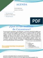Análisis de Coyuntura, I.E.a.B. Estudiantes