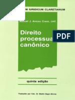 Direito Processual Canônico - Arroba Conde