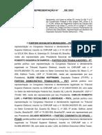 Representação Eduardo Bolsonaro_misoginia na ccj