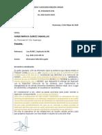 Carta de Informe