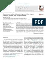 [2017] Finite Element Analysis of Dynamic Progressive Failure of Plastic