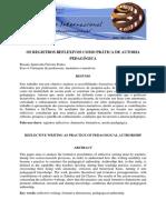 2011_Os registros reflexivos como prática de autoria pedagógica