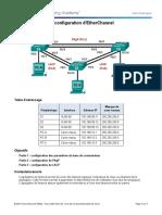 TP-6 - Configuring EtherChannel