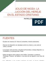 El Concilio de Nicea