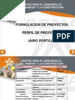 PRESENTACION PERFIL DE PROYECTOS