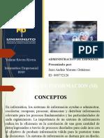 SISTEMA DE INFORMACION (SI) diapositivas