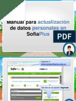 Manual Actualizacion Datos Splus