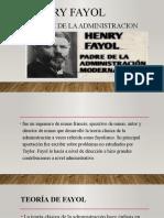 Exposicion ( Henry Fayol, El Padre de La Administracion)