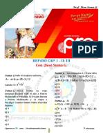 REPASO CONJUNTOS  CUATRO OPERACIONES Y SUCESIONES SUMATORIAS