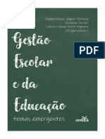 Gestao Escolar e Da Educacao