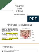 PROLAPSO DE CORDON UMBILICAL