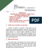 CAPITULO VI Largo Plazo. Análisis Edos Financieros