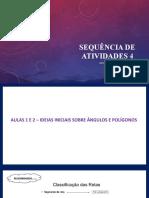 SEQUÊNCIA DE ATIVIDADES 4