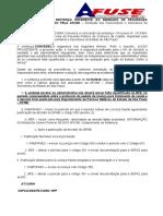 Comunicado CGRH - Cumprimento da Sentença PA95
