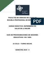 GUIA DE SESIONES EDUCATIVAS