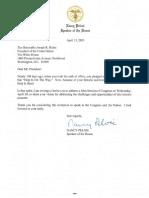 Biden State of the Union Invite