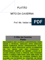 Mito da caverna texto ilustrado