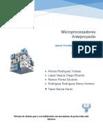 AnteProyecto Microprocesadores