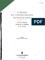 A Teoria Do Conhecimento_ Uma i - Paul Moser