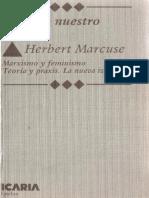 Marcuse, Herbert - Calas en Nuestro Tiempo. Marxismo y Feminismo